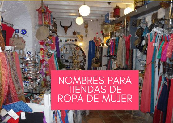 e132ef32d28 Nombres para tiendas de ropa de mujer » Logotipos en Lima
